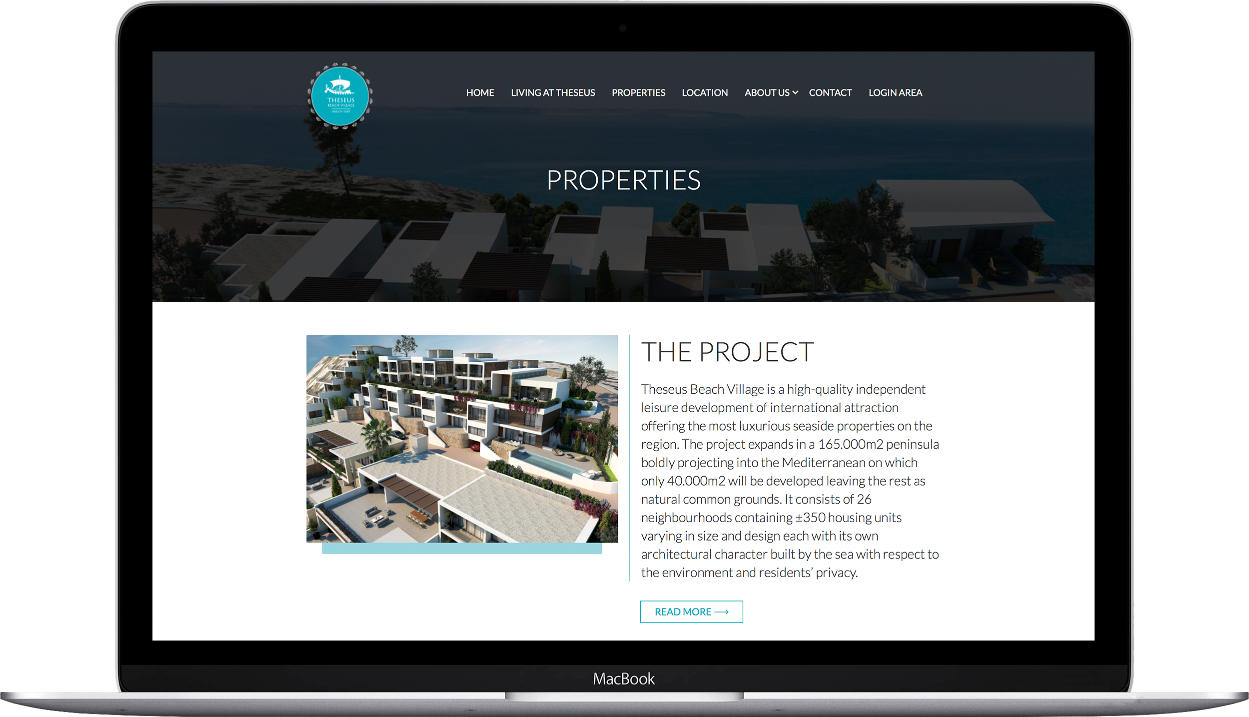Theseus Beach Village development