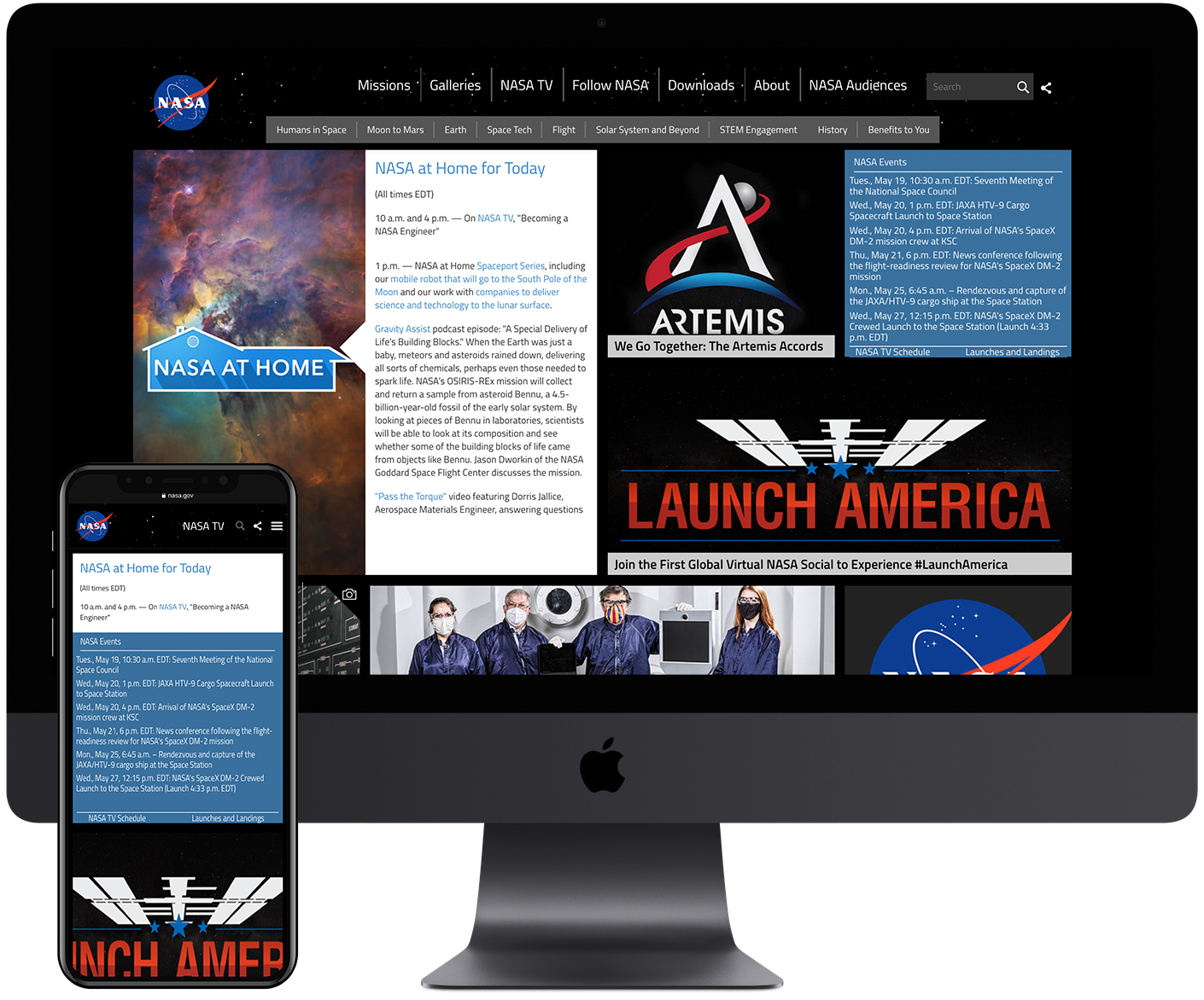 NASA DRUPAL DEVELOPMENT